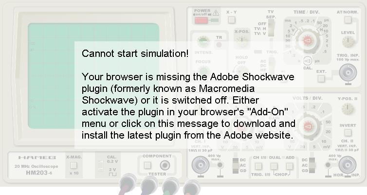 Oscilloscope Simulation - Virtual Oscilloscope (oscilloscope